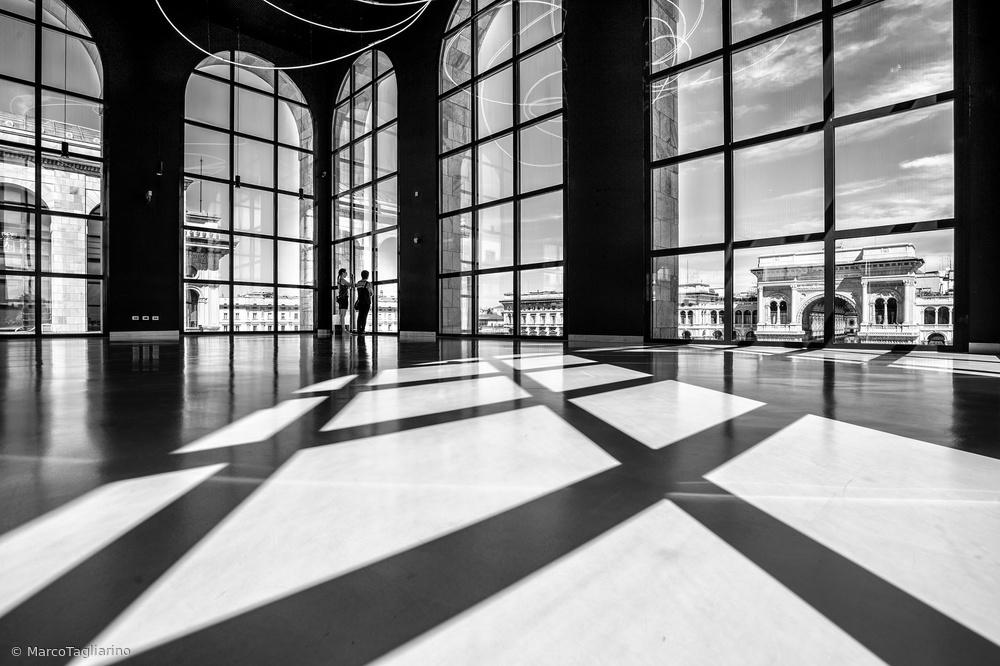 Fotokonst Lights and shadows