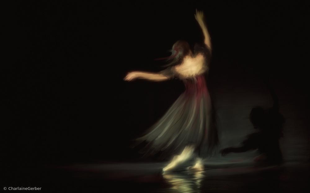Fotokonst Ill dance with my shadow