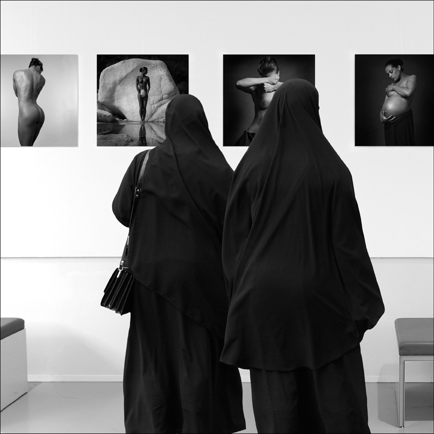 Watching exhibition