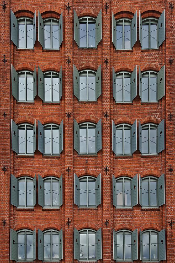 Fotokonst brick facade