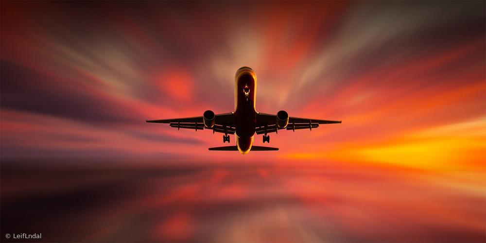 Fotokonst Colorful Landing.