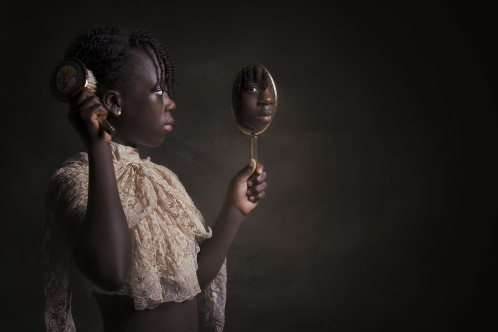 Fotokonst Mirror mirror in my hand