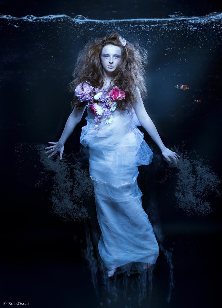 Fotokonst Underwater Bride