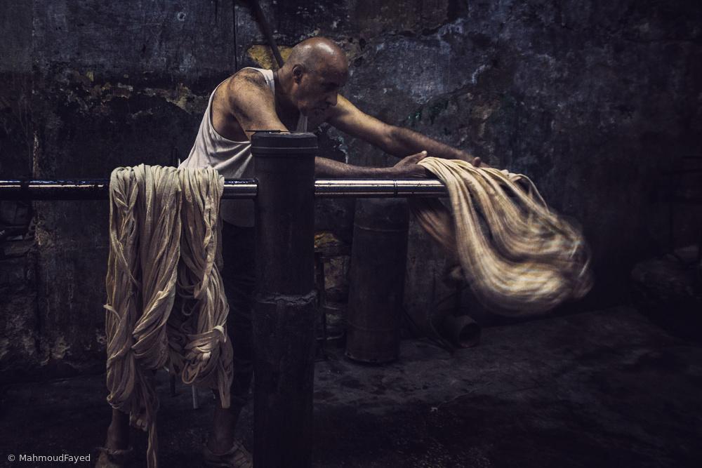 Fotokonst The Dyer