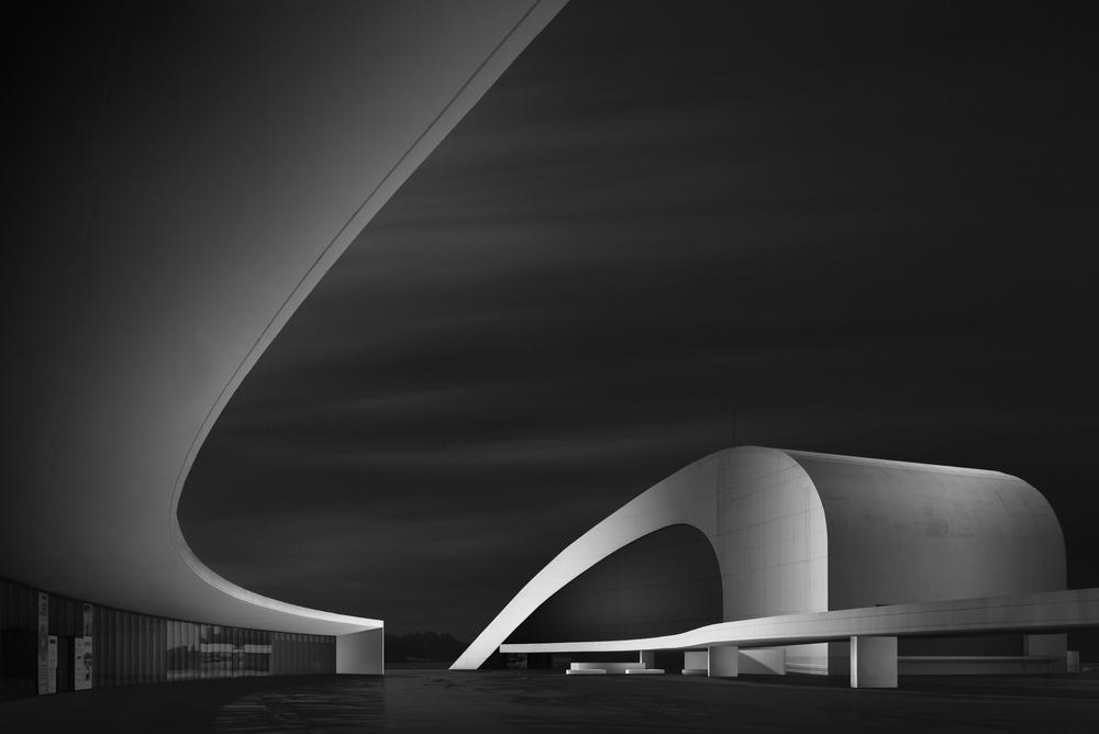 Fotokonst Curved Universe I - Flow