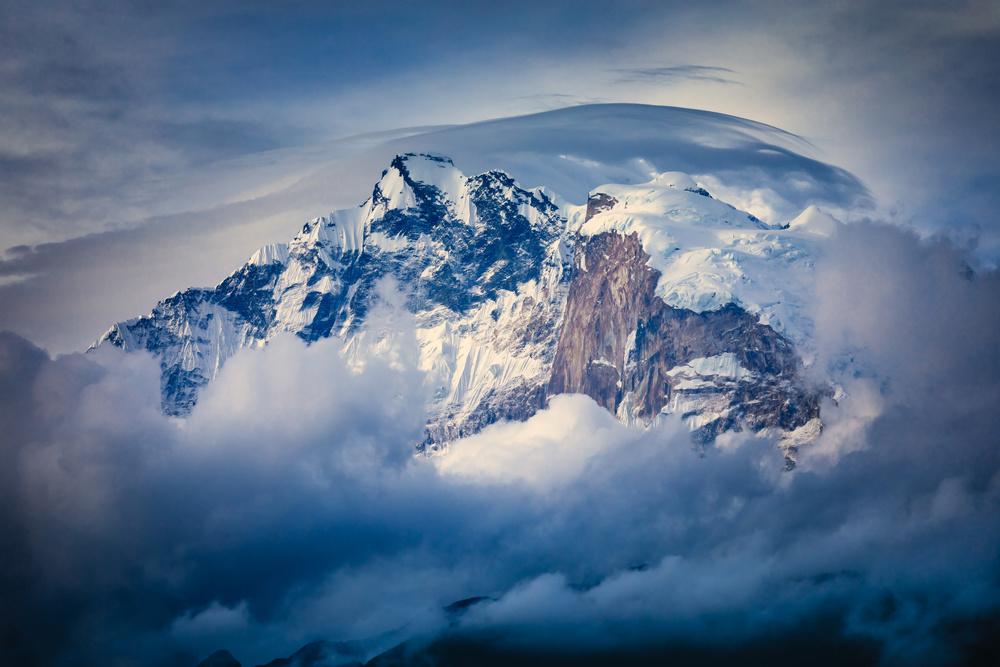 Fotokonst Annapurna Range