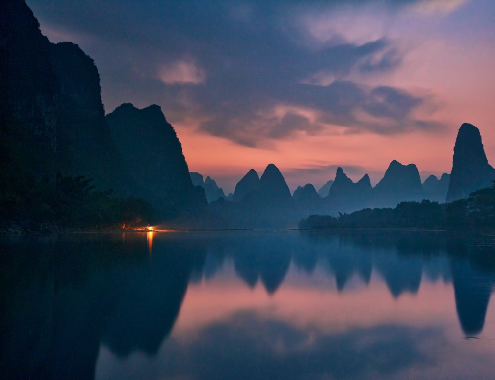 The Dawn of Li River