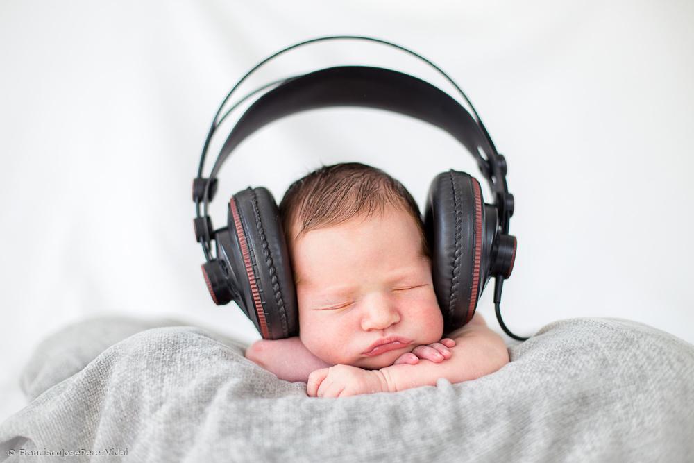 Fotokonst Feeling the music