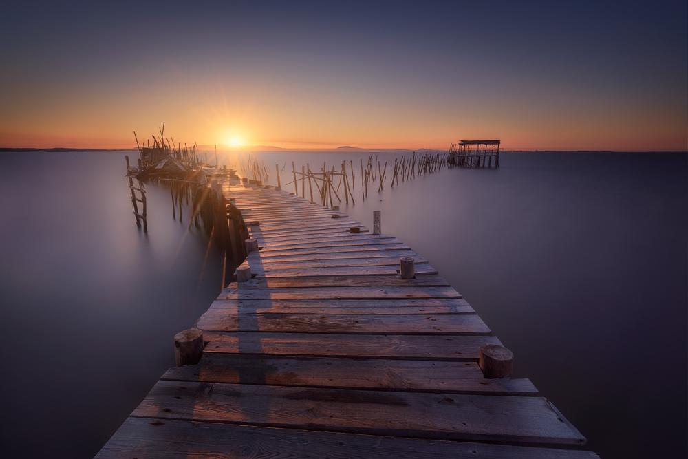 Fotokonst The last dock