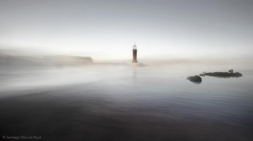 Fotokonst The Lighthouse of Nowhere