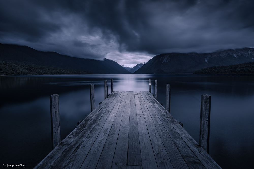 Fotokonst Storm Coming