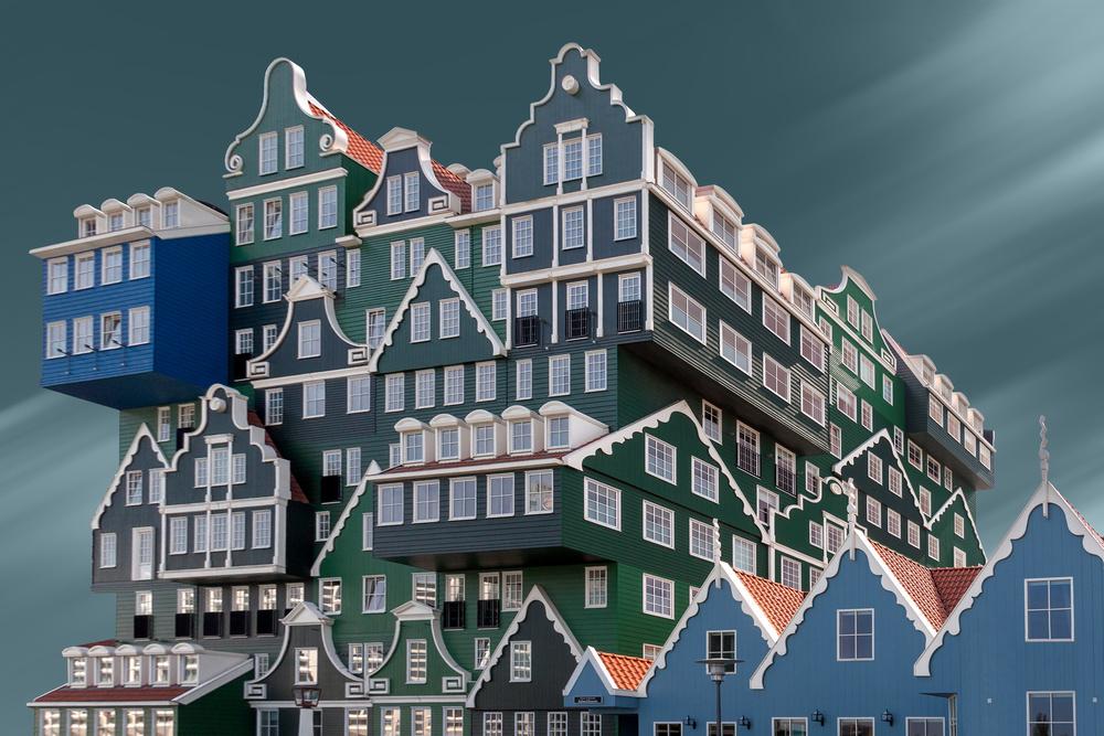 Poster Hotel in Zaandam
