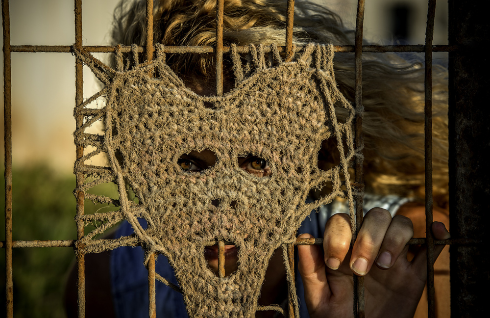 Fotokonst The mask