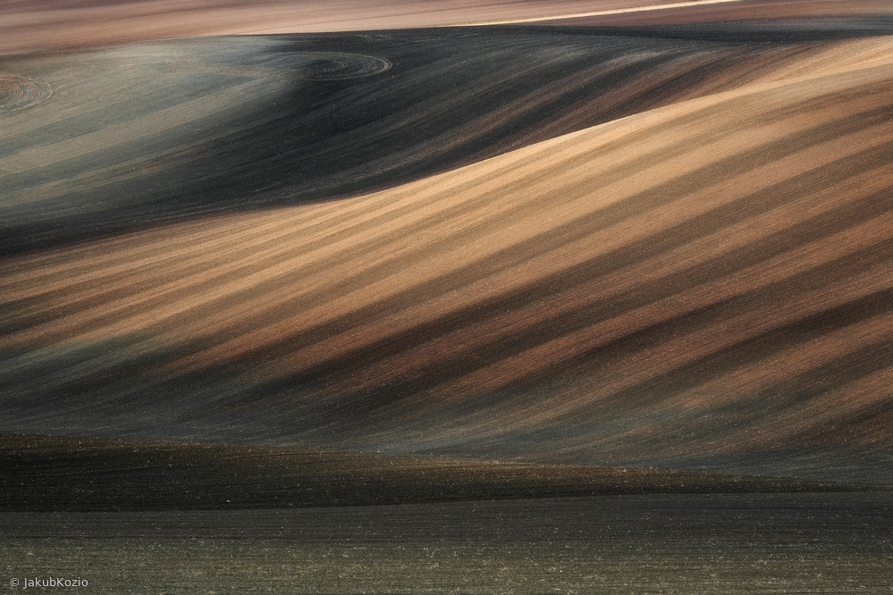 Fotokonst Moravian lines