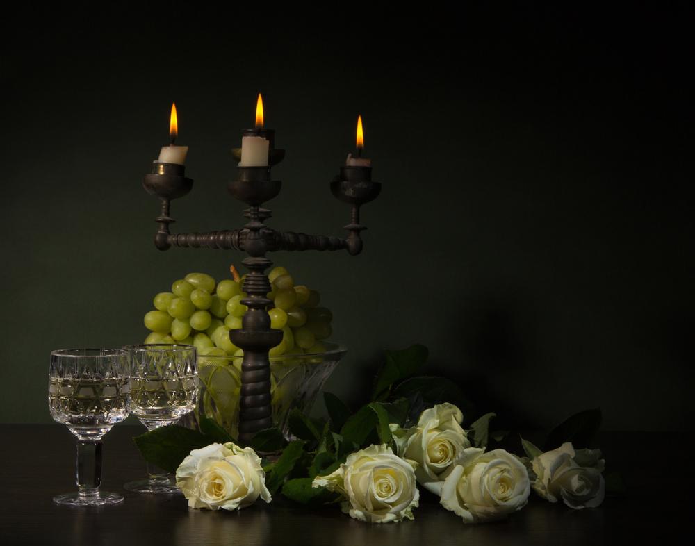 Fotokonst romantic still-life