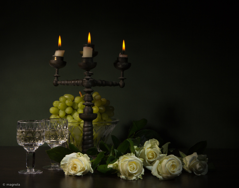 Fotokonst romantic still-life
