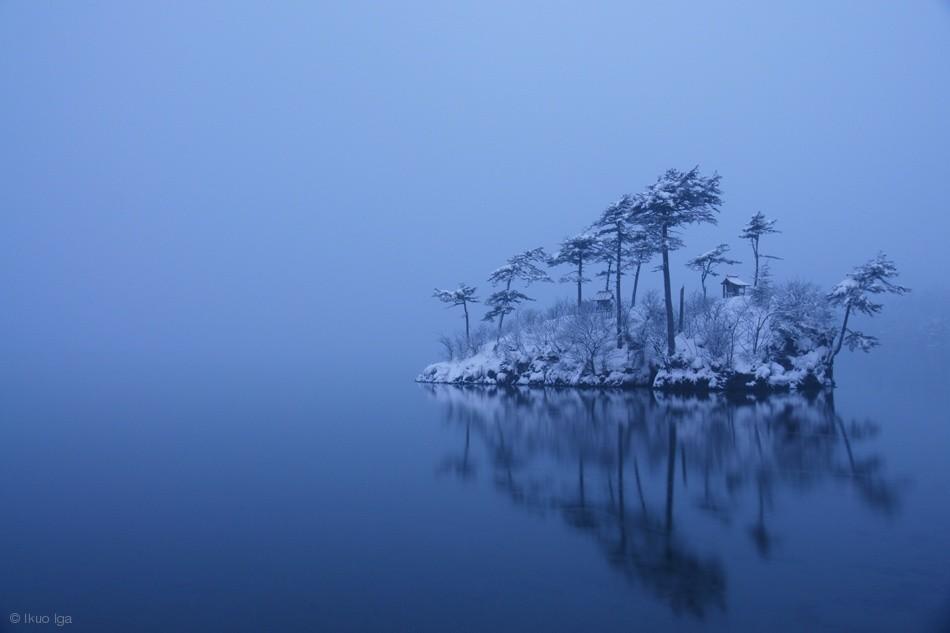 Fotokonst Snowy morning