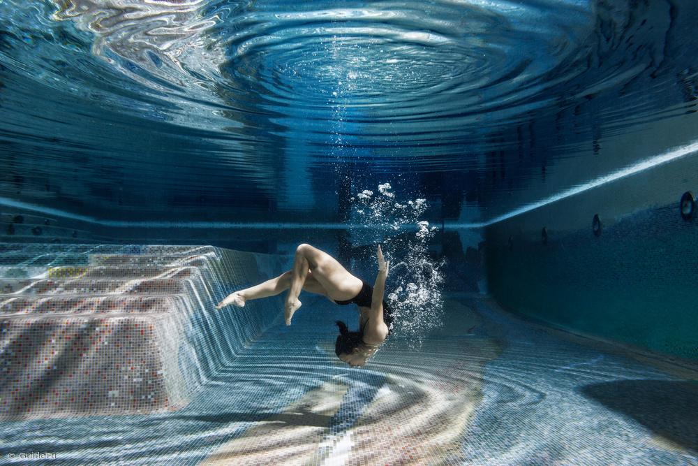 Fotokonst Swimming Inside