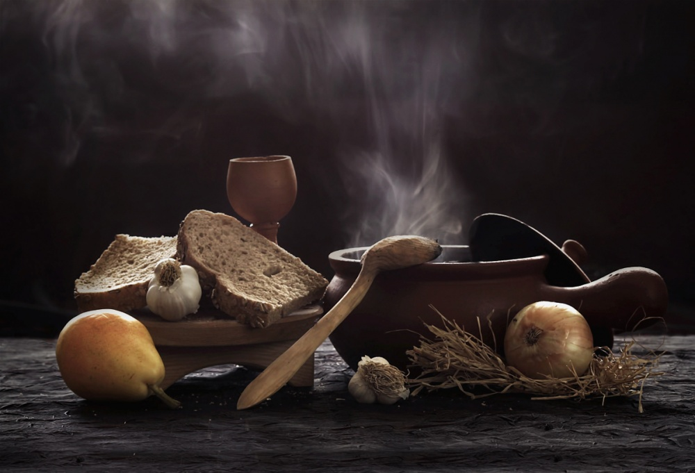 Pottage: Interesting Still Life by Emine Basa