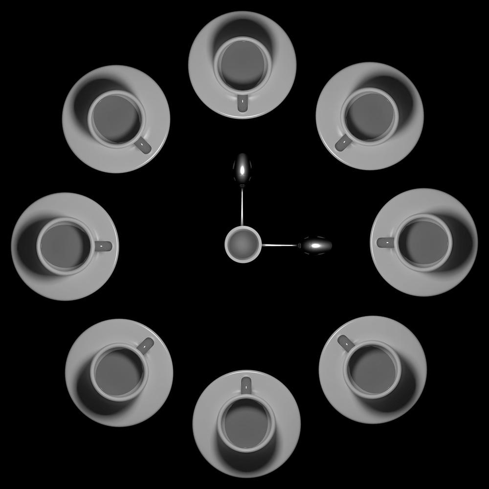 Poster Three O'Clock