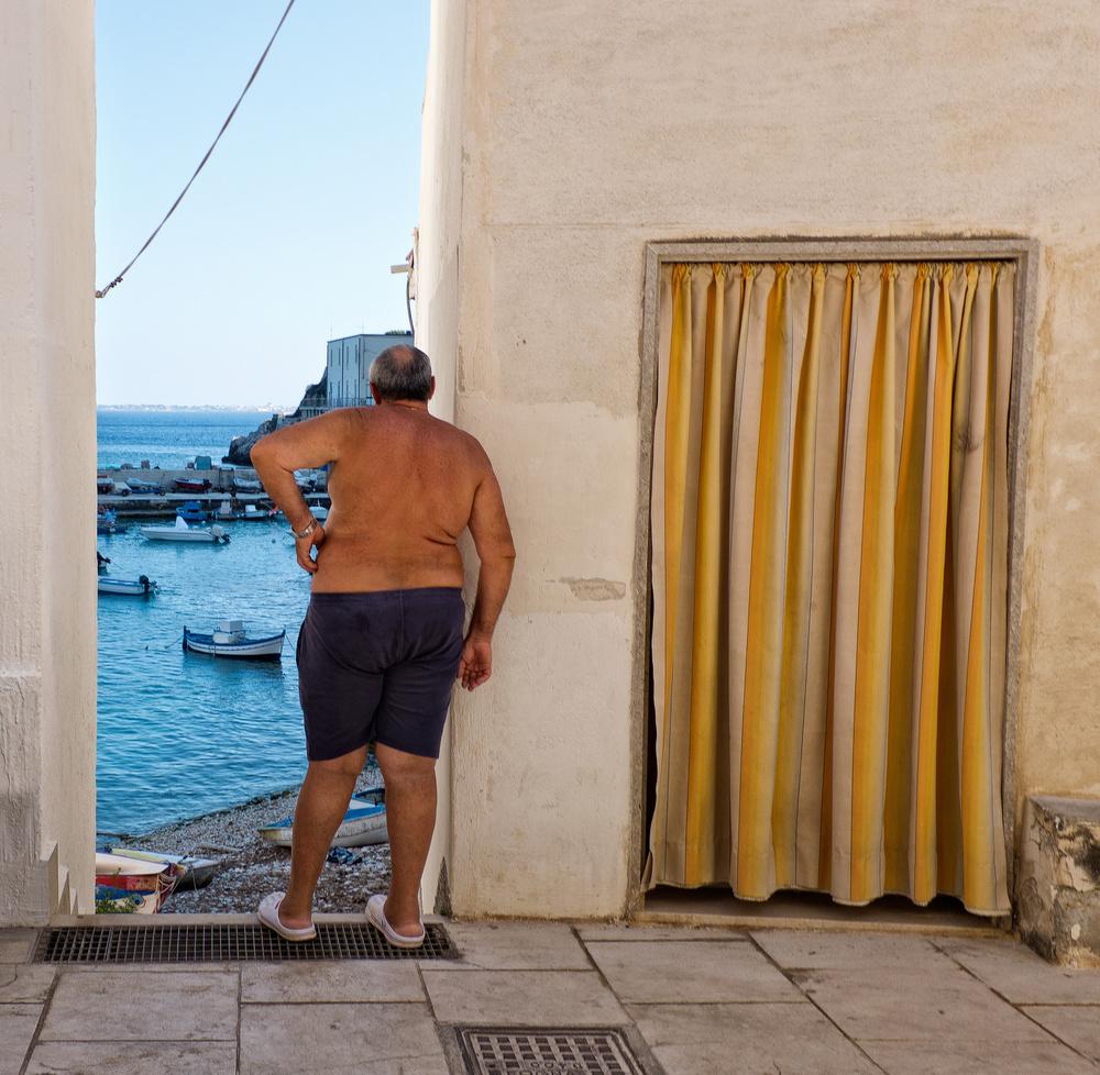 Fotokonst The window
