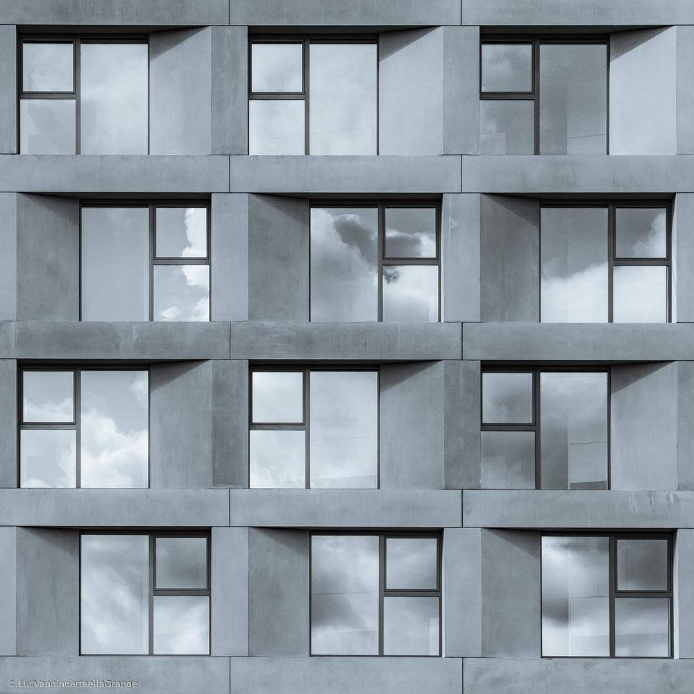 Fotokonst Twelve student flats
