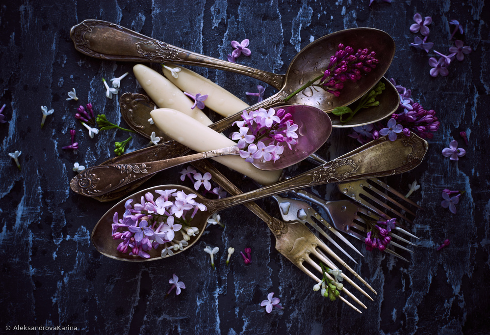 Fotokonst Spoons&Flowers