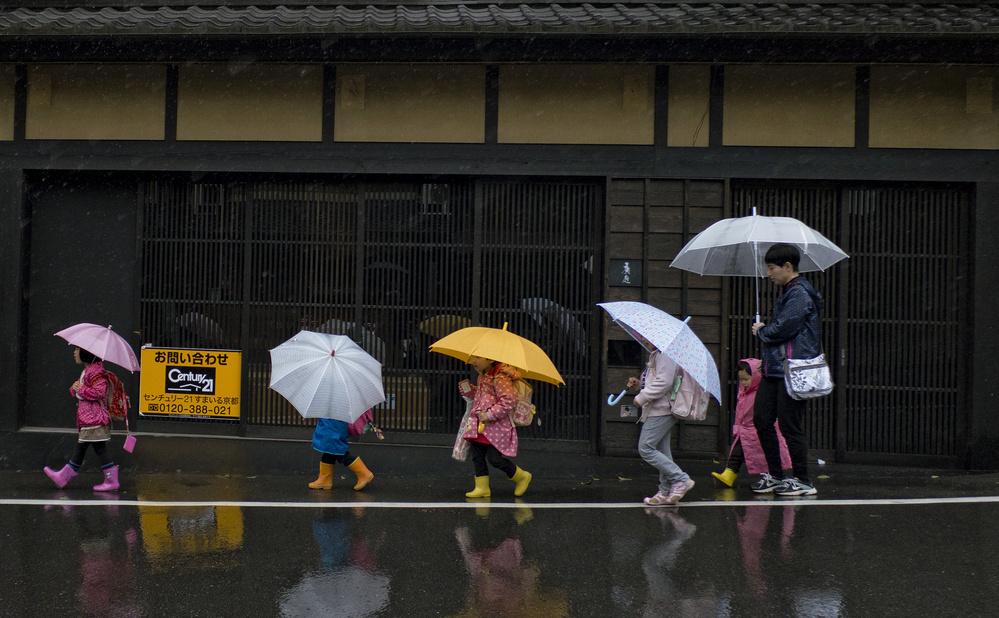 Fotokonst Under the rain