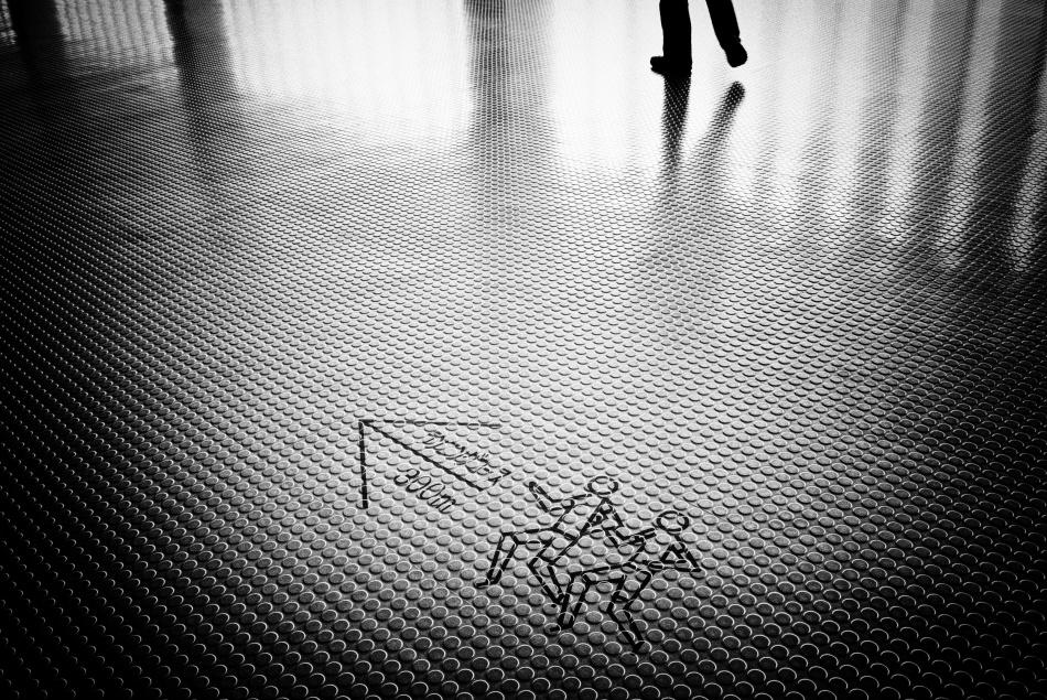 Poster Let\'s walk