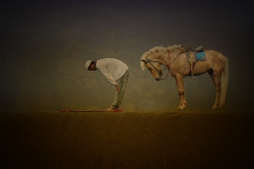 Horse Prayer by Asep Bowie