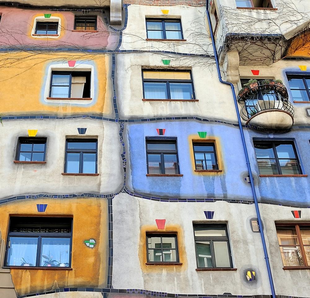 Fotokonst Windows of Hundertwasser
