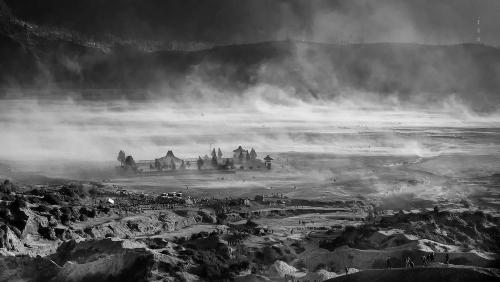 Fotokonst Sandstorm