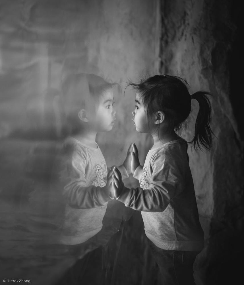 Fotokonst mirror mirror...
