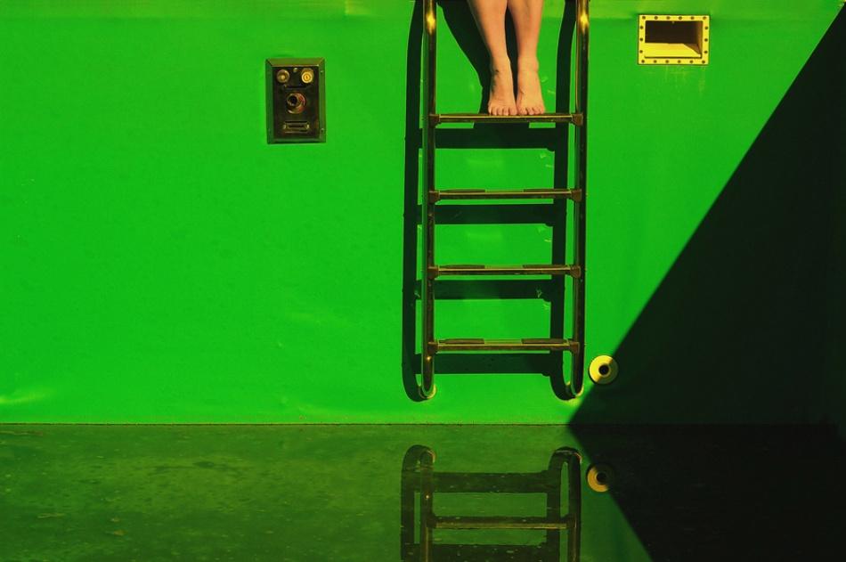 Fotokonst Deep green