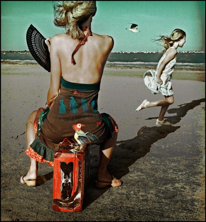 Fotokonst Dance! Little bird...