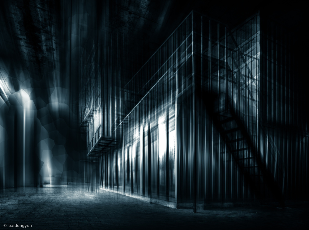 Fotokonst Unreal Space