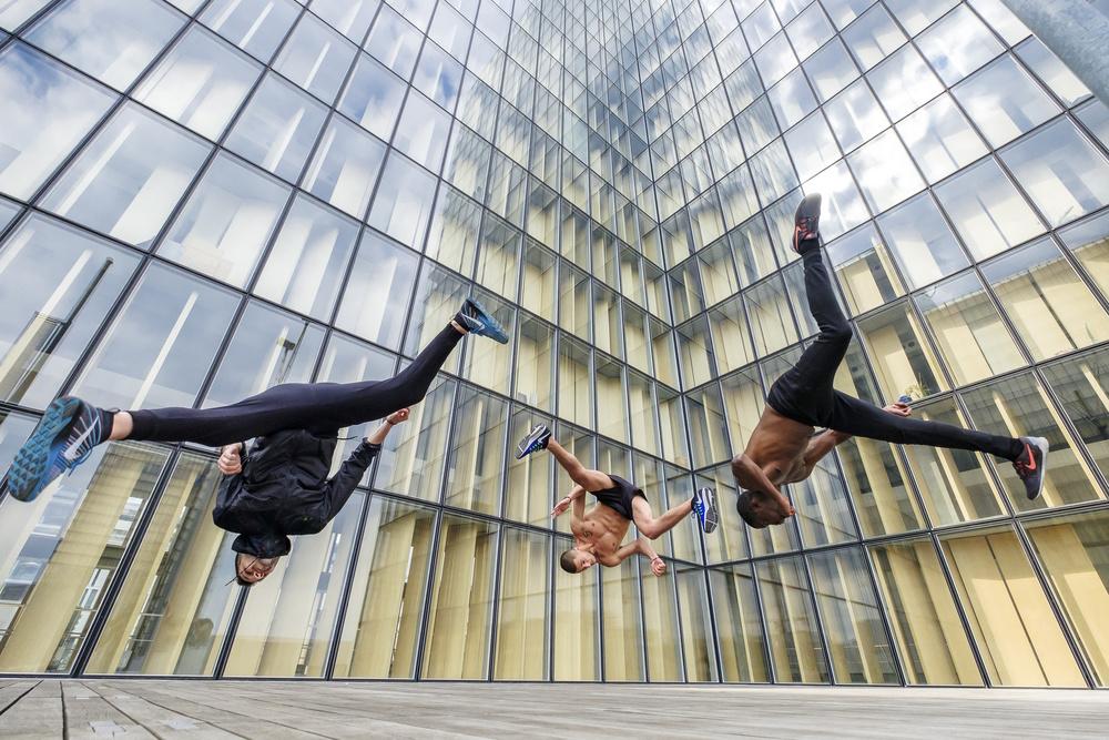 Fotokonst Tricking with Ahmed Chouikhi, Mehdi Harhad & Kévin Cétout