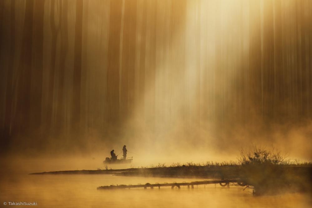 Fotokonst Golden silence