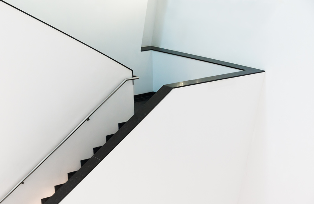 Poster  Staircase in triangular