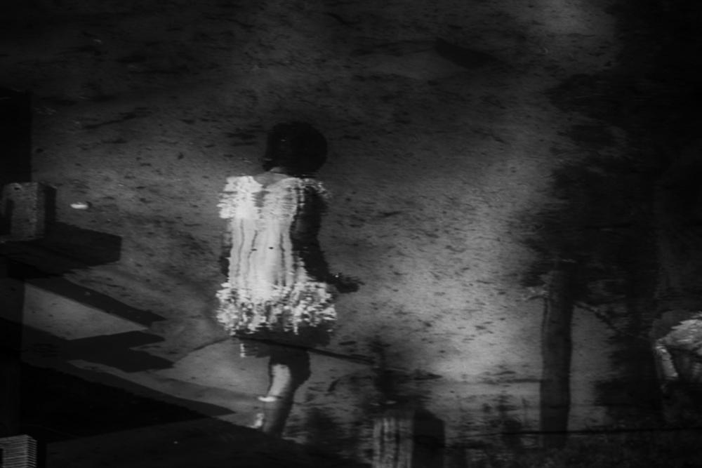 Fotokonst Her shadow