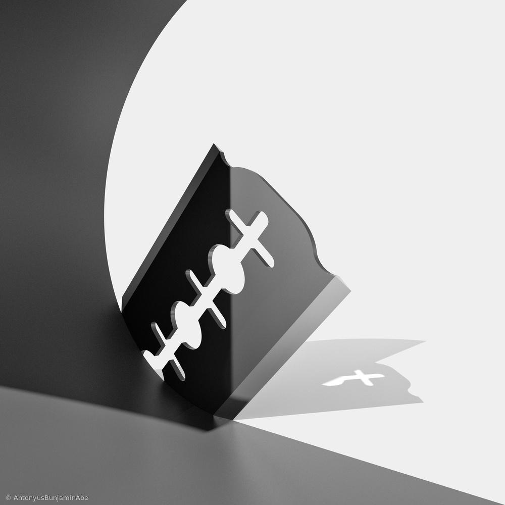 Fotokonst Curve Slice