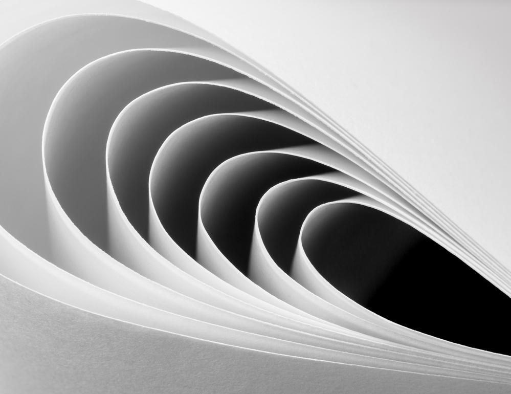 Fotokonst Paper Crescents