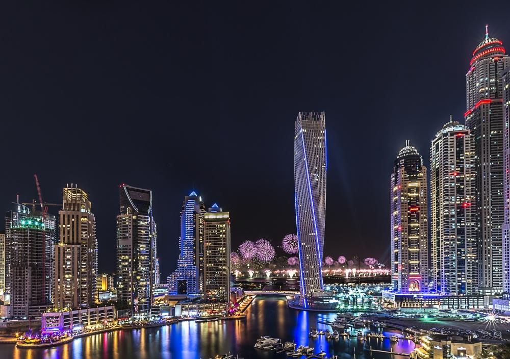 Poster Dubai Marina
