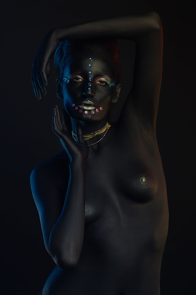 Fotokonst African Queen #3