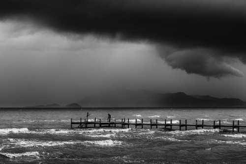 Quick, before the storm by Jean De Spiegeleer