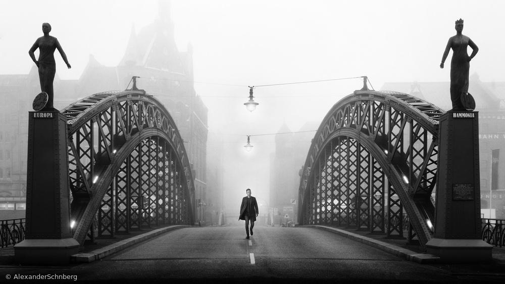 Fotokonst Brooksbrücke