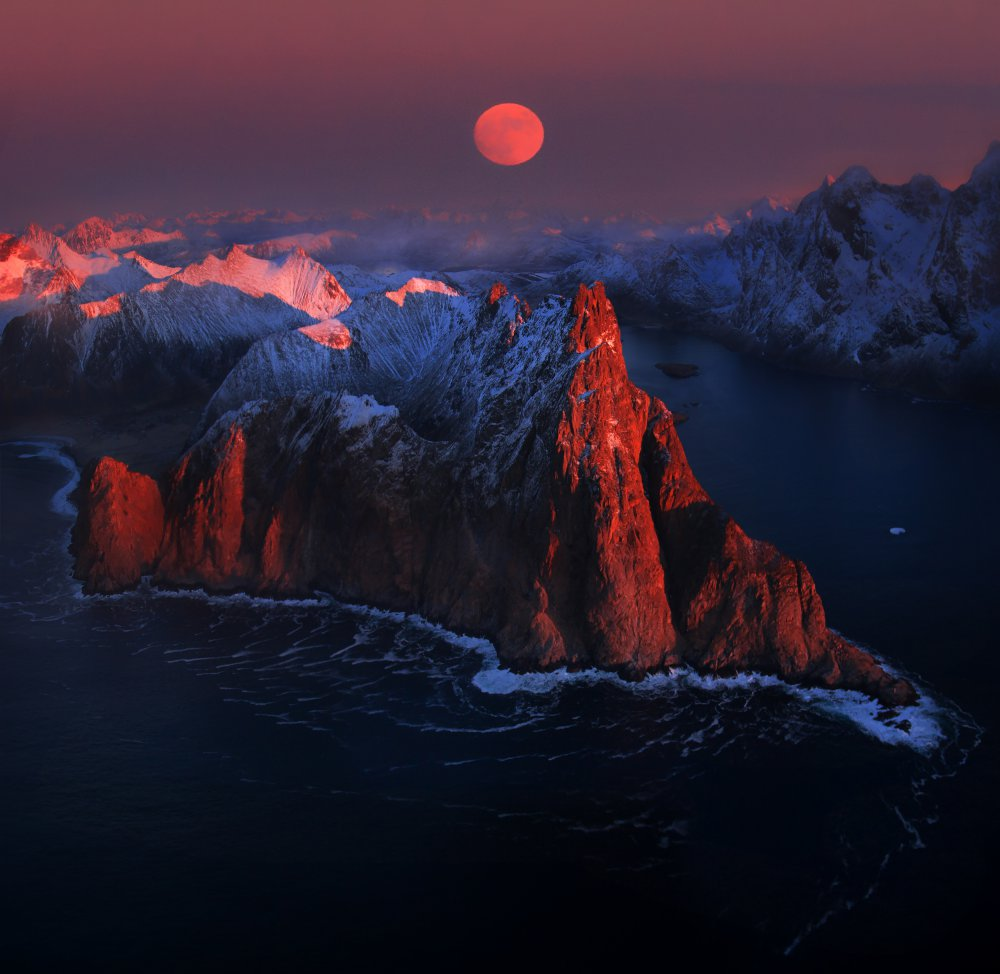 Fotokonst Full moon