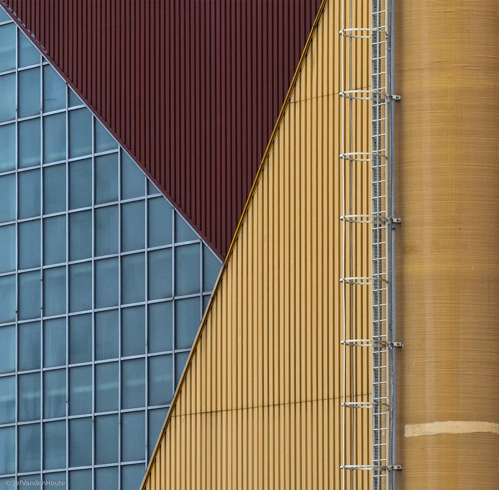Fotokonst Just three colors