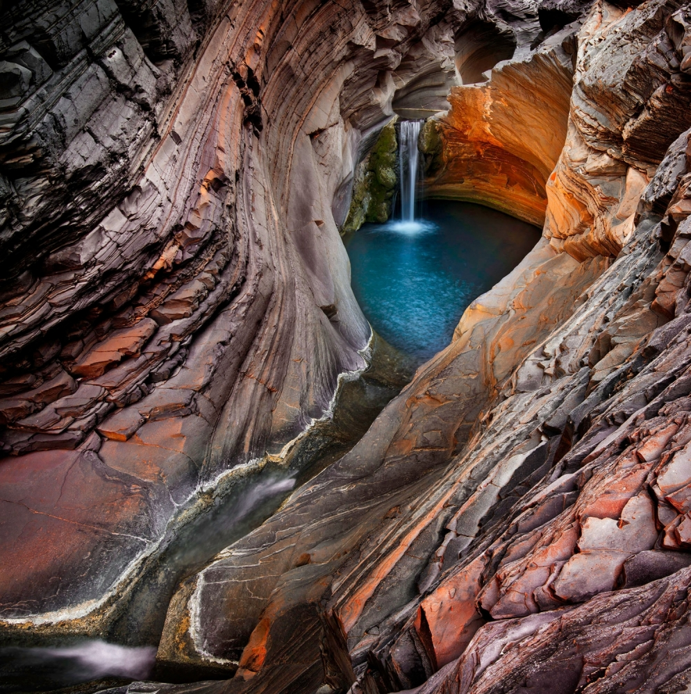 Poster SPA POOL, HAMERSLEY GORGE