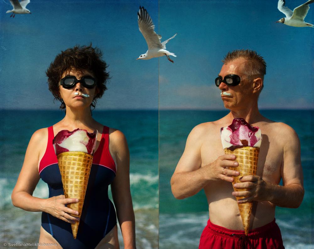 Fotokonst Summer Time2